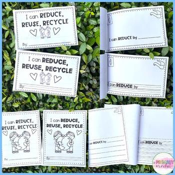 Earth Day Mini Writing Book