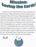 Earth Day Missions