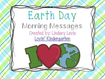 Earth Day - Morning Messages