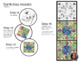 Earth Day Mosaic - Collaborative Coloring Sheets - Radial