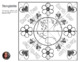 Earth Day Mosaic - Collaborative Coloring Sheets - Radial Symmetry