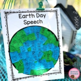 Earth Day Mosaic Speech Therapy Cut and Paste Activity