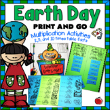 Earth Day Multiplication Activities