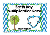 Earth Day Multiplication Race
