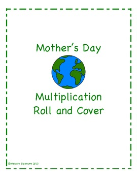 Earth Day Multiplication Roll and Cover