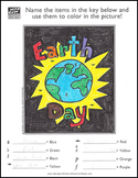 Earth Day Music Activity Sheet