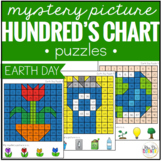 Earth Day Mystery Picture Hundred's Chart Puzzles
