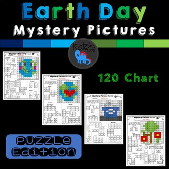 Earth Day Mystery Picture Puzzles 120 Chart