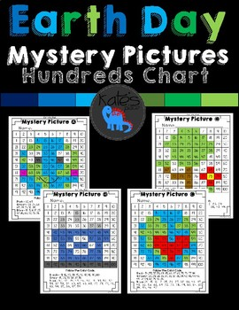 Earth Day Mystery Pictures 100s Chart