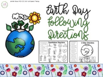 Earth Day NO PREP Following Directions