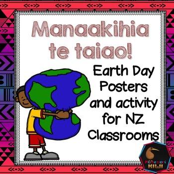 Earth Day New Zealand - Maori and English -FREE