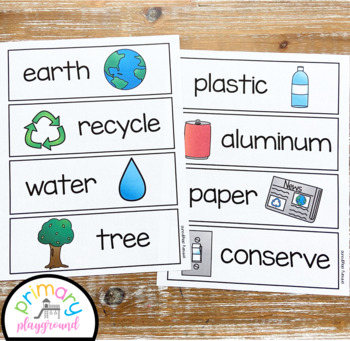 Earth Day Activities No Prep Math, Literacy and Science Pack