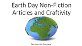 Earth Day Non-Fiction Articles and Craftivity