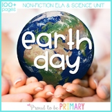 Earth Day Non-Fiction ELA & Science Unit