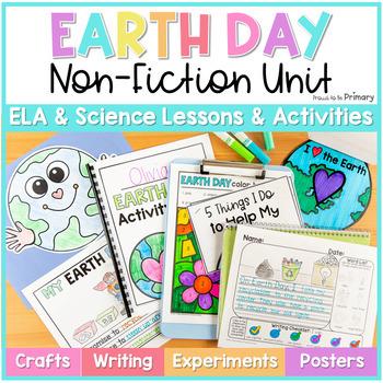 Earth Day Non-Fiction ELA & Science Unit