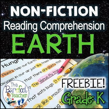 Earth Day Non-Fiction Reading Comprehension Passages SAMPLE