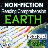 Earth Day Reading Comprehension Passages and Questions FREE SAMPLE