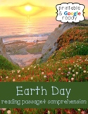 Earth Day Nonfiction Close Reading Comprehension Passage and Questions