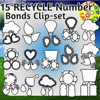Earth Day Number Bonds