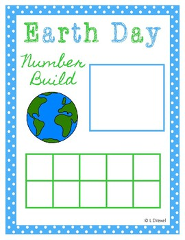 Earth Day Number Building