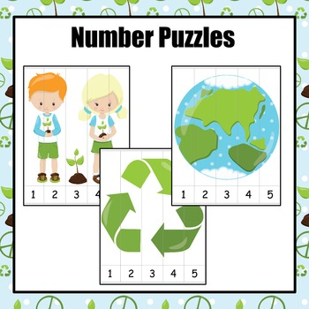 Earth Day Number Puzzles