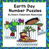 Earth Day Number Puzzles *FREEBIE*