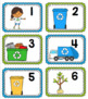 Earth Day Number and Vocabulary Cards