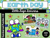 Earth Day Numbered Puzzles (1-10)