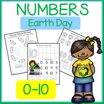 Earth Day Numbers 0-10