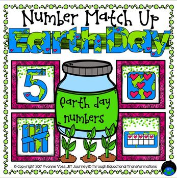 Earth Day Numbers Match Up