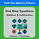Earth Day: One Step Equation Addition & Subtraction - Myst