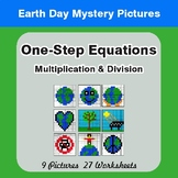 Earth Day: One Step Equations: Multiplication & Division M