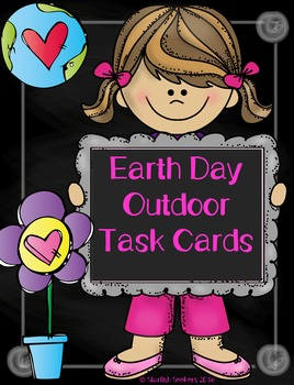 Earth Day Outdoor Task Cards