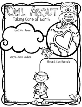 Earth Day: Owl About Taking Care of the Earth