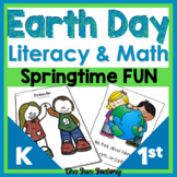 Earth Day Math Earth Day Literacy Centers and Worksheets