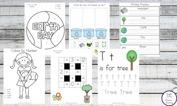 Earth Day Pack Grades 1, 2, 3