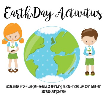 Earth Day Packet | FREE UPDATES FOR LIFE