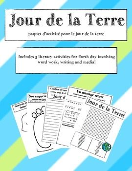 Earth Day Packet (FRENCH)