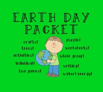 Earth Day Packet [Worksheets & Games]