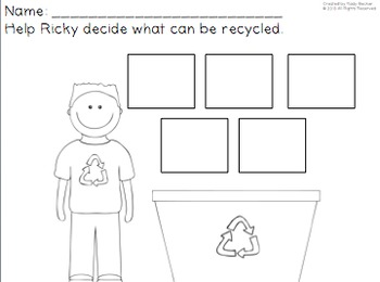 Earth Day Packet - for Book: Earth Day is EVERY Day (Free in my store)