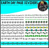 Earth Day Page Dividers Bundle {Educlips Clipart}