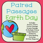 Earth Day Reading Comprehension Paired Passages