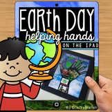 Earth Day Paperless Digital Poster on the iPad