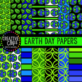 Earth Day Papers {Creative Clips Digital Clipart}
