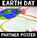 Earth Day Partner Poster: A 4-Panel Earth Day Collaboratio