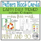 Earth Day Pattern Block Cards