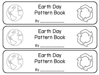 Earth Day Pattern Book