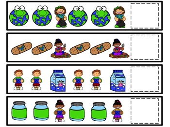 Earth Day Pattern Cards