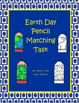 Earth Day Pencil Matching Task