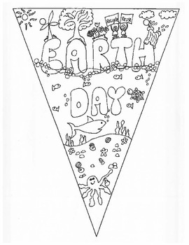 Earth Day Pennants